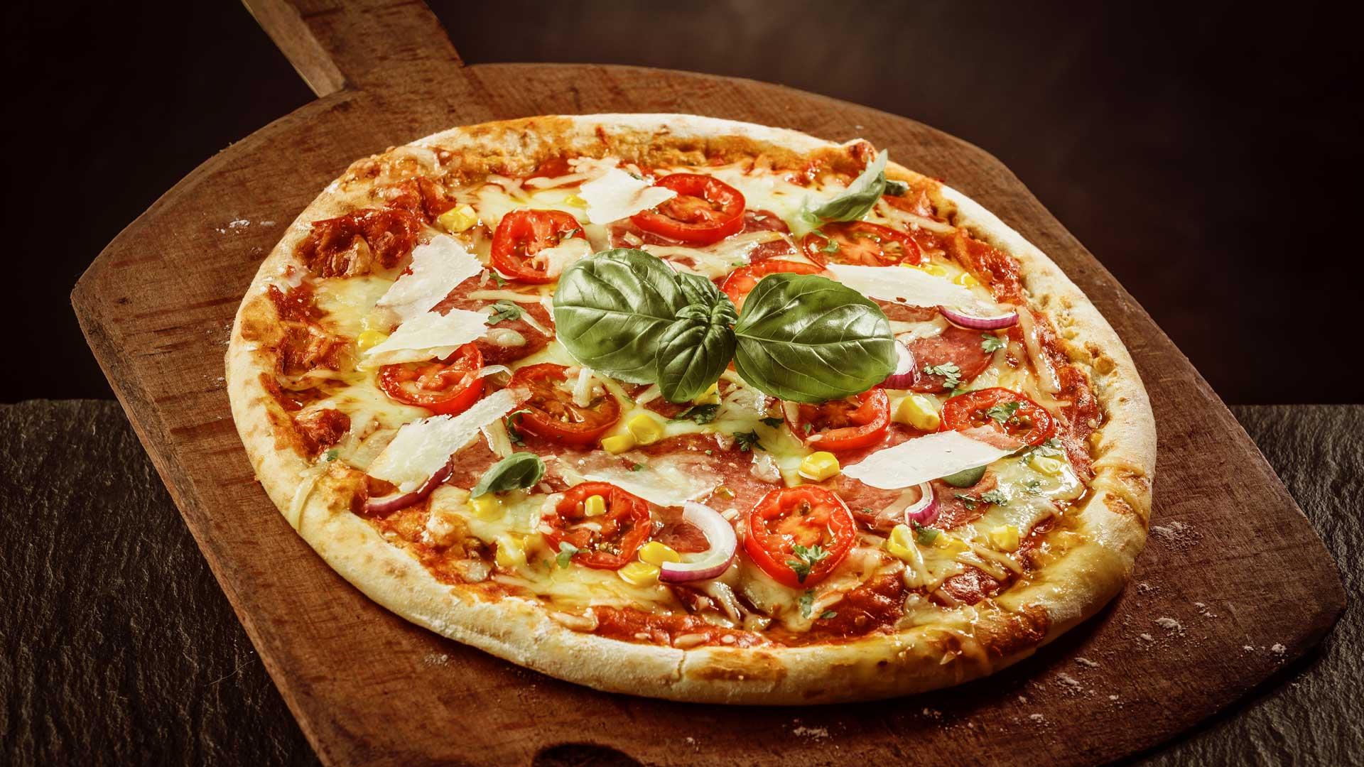 Schmackhafte Pizza